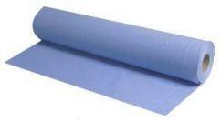 "10"" Blue Hygiene Wiping Rolls (18 Rolls)"