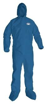 Coveralls Hooded Light Duty