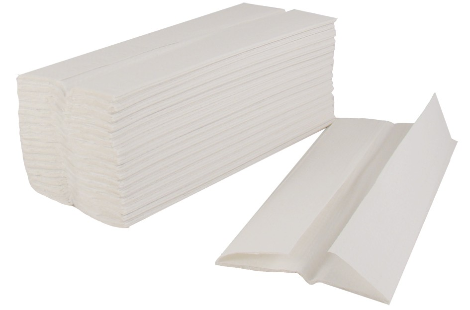 C Fold Hand Towels 2ply White (2430)