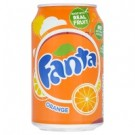 Fanta Orange  330ml Cans (24 Pack)