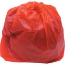 Red security Sack